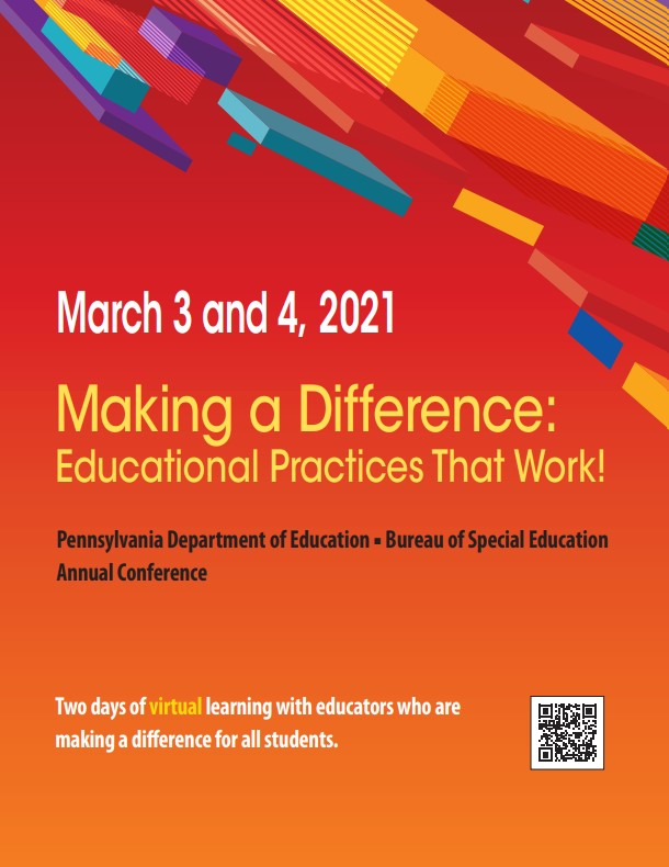 2021 PDE Conference flyer