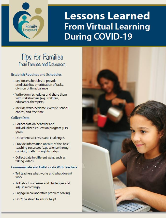 Lessons Learned From Virtual Learning During COVID-19: Tips for Families