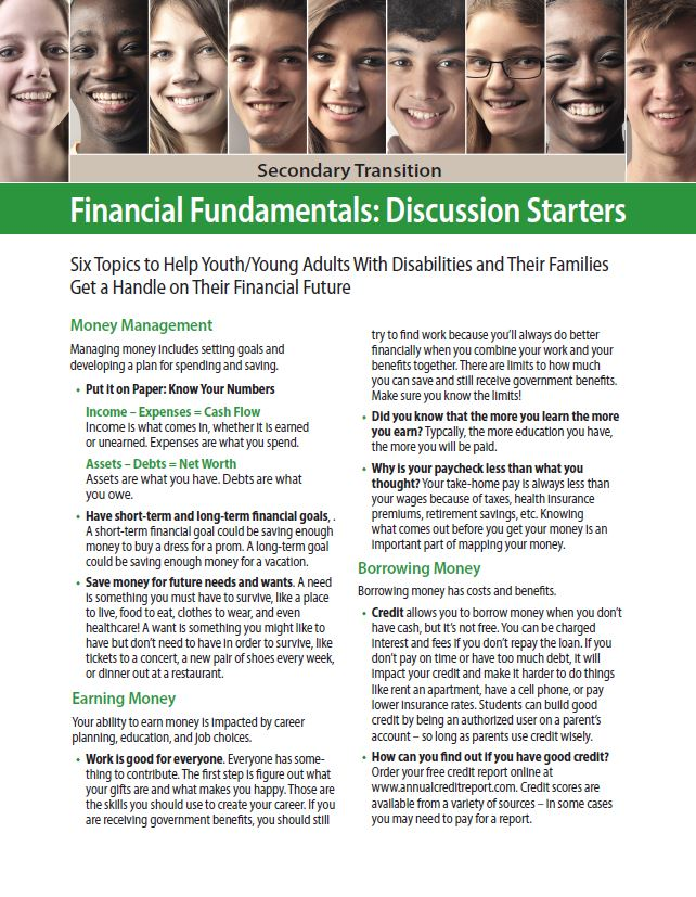 Secondary Transition: Financial Fundamentals