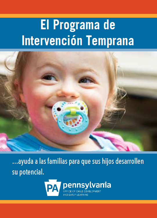 Early Intervention Brochure (Spanish)