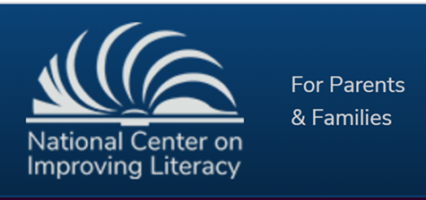 National Center on Improving Literacy logo. Click on image to go to page https://improvingliteracy.org/family