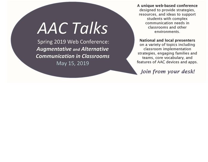 AAC Talks logo
