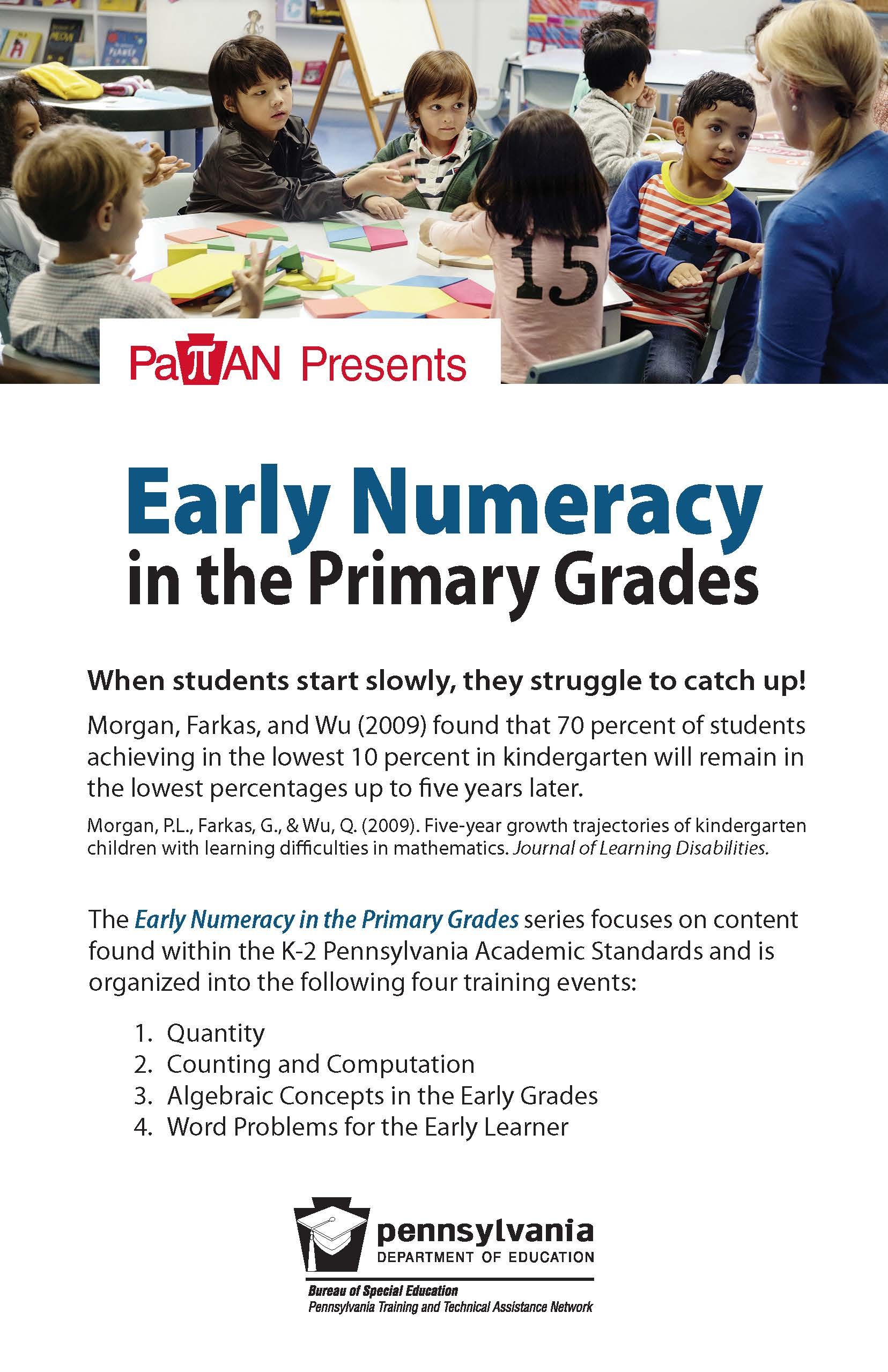 Early Numeracy in the Primary Grades
