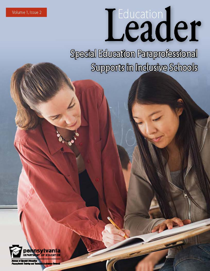 Education Leader - Special Education Paraprofessional Supports in Inclusive Schools