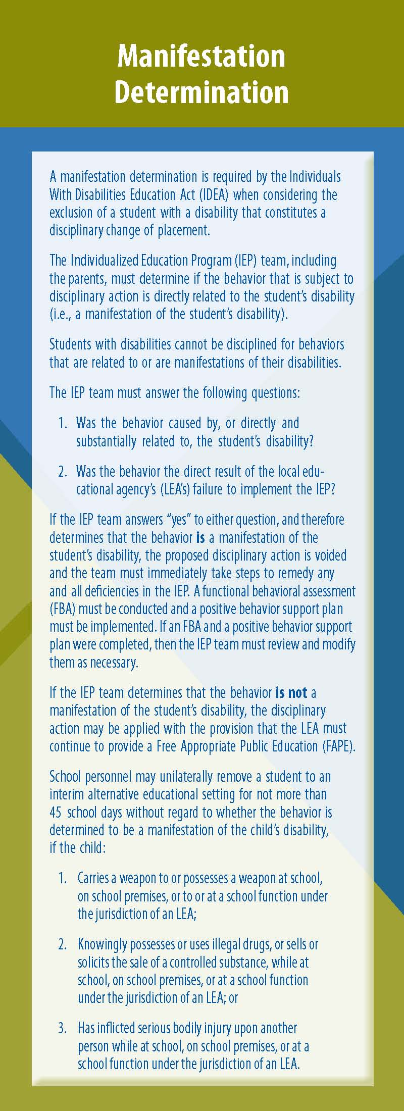 12 Warning Signs Iep Team Is Not Doing >> Pattan Publications