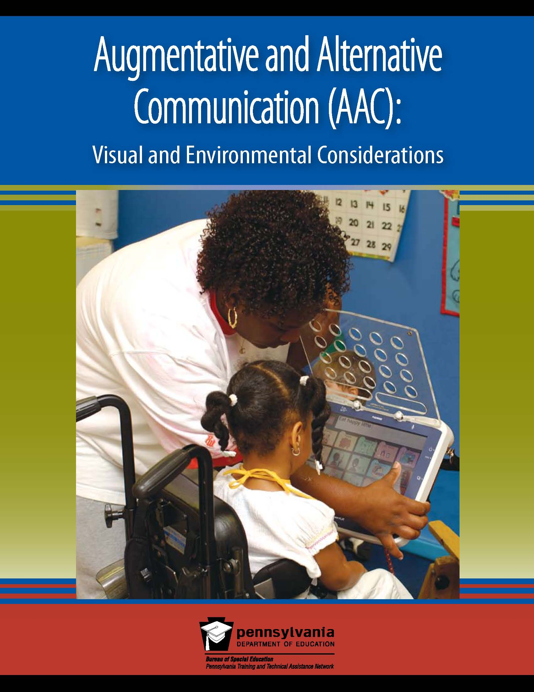 Augmentative and Alternative Communication (AAC): Visual and Environmental Considerations