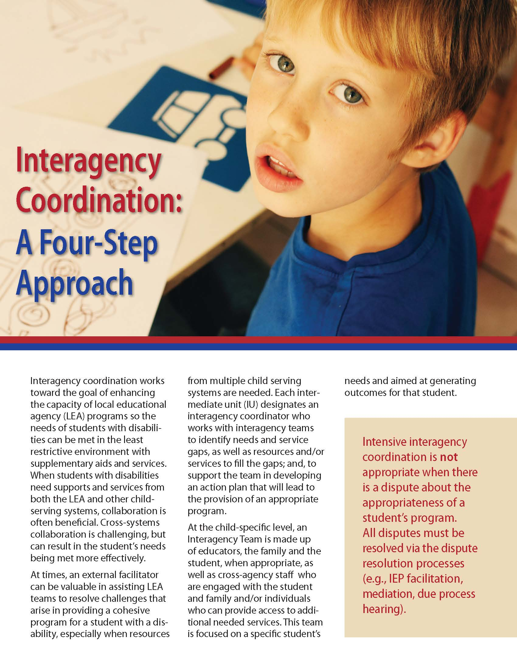 Interagency Coordination: A Four-Step Approach